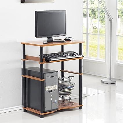 Amazon.com: Mesa de escritorio de computadora portable para ...