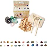 4 Pack - Small Rock, Mineral & Gem Excavation Kit