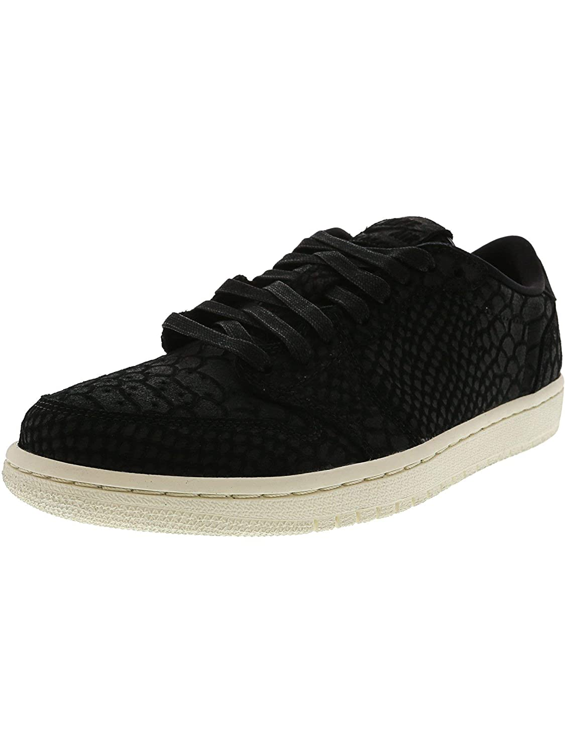 e87af6bf322b Amazon.com | NIKE Women's Air Jordan 1 Retro Low Ns Nrg Black / - Sail  Ankle-High Leather Fashion Sneaker 7M | Fashion Sneakers