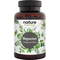 Premium Magnesium Citraat + Vitamine B6 en B12-2580mg zuiver Tri-Magnesium-Di-Citraat - 400mg elementair magnesium per…