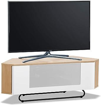 Centurion soporta Hampshire - Mueble de TV con Pantalla Plana de 26 a 50 Pulgadas (Roble con Haz de luz Blanca): Amazon.es: Electrónica
