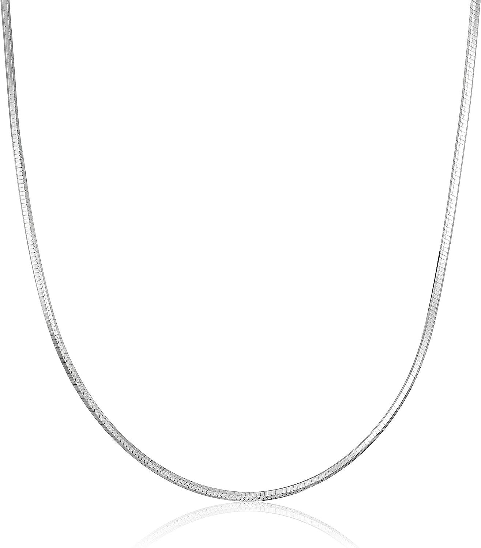 Sterling Silver-1.5mm Diamond Cut Snake Chain