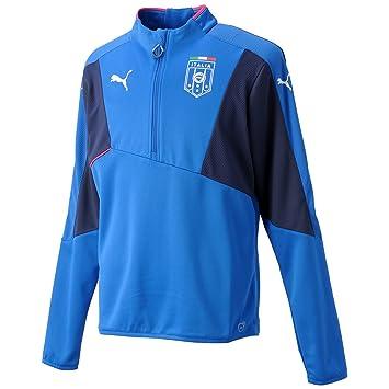 Puma Shirt FIGC Italia Stadium Top - Camiseta de equipación de fútbol para Hombre, Color
