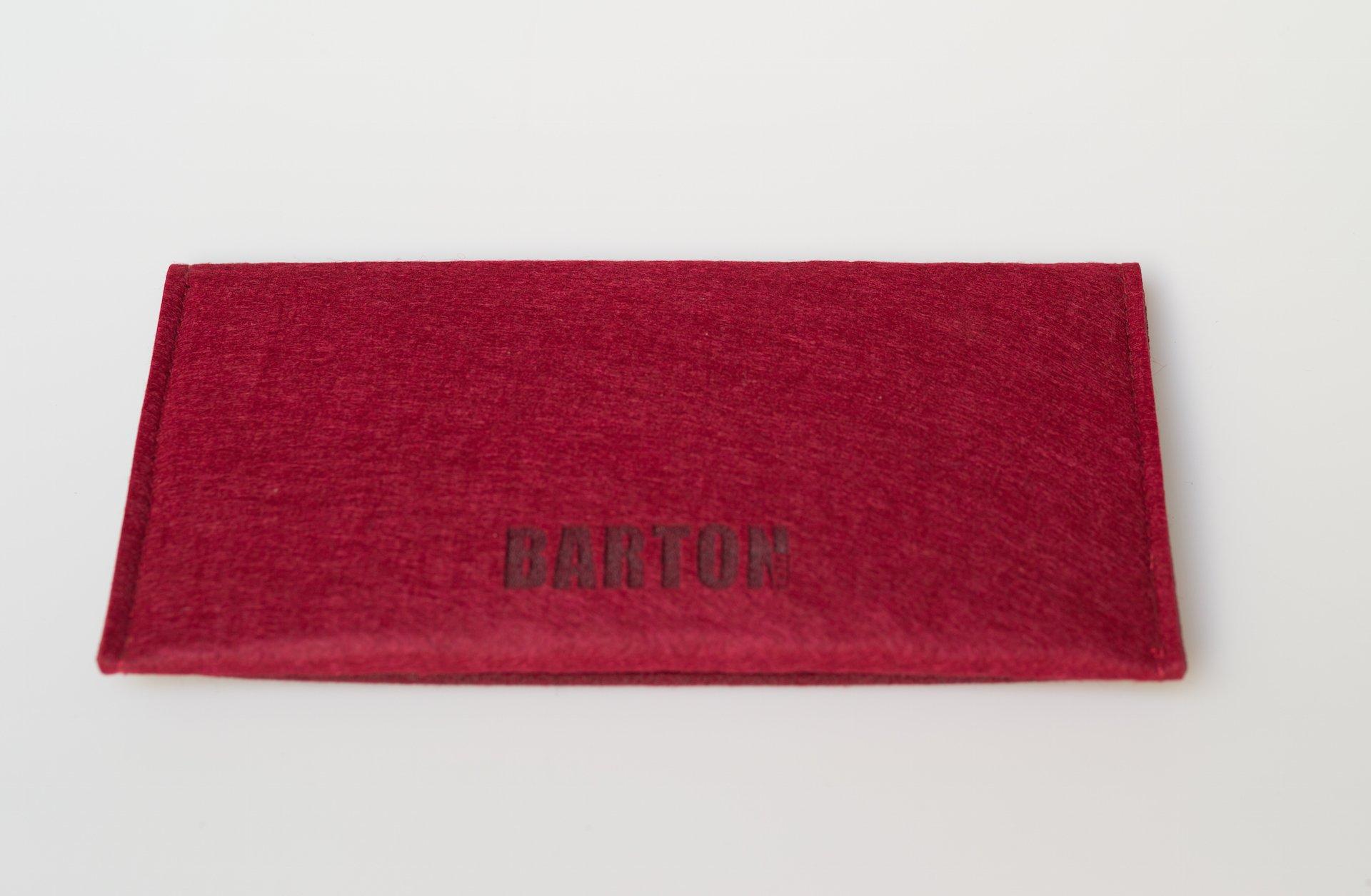 Barton 1972 Pitch Black Braided Leather 1972 XL 50'' (125cm) Leica Sony Fuji Luxury Designer Barton1972 Top Grain Leather by Barton 1972 (Image #8)