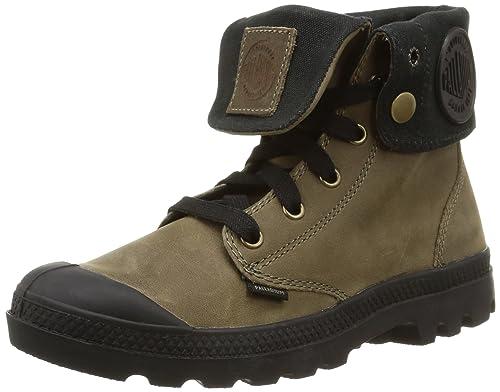 Palladium Baggy Leather - Botas de Aventura, Talla: 39,5, Color: Marrón: Amazon.es: Zapatos y complementos