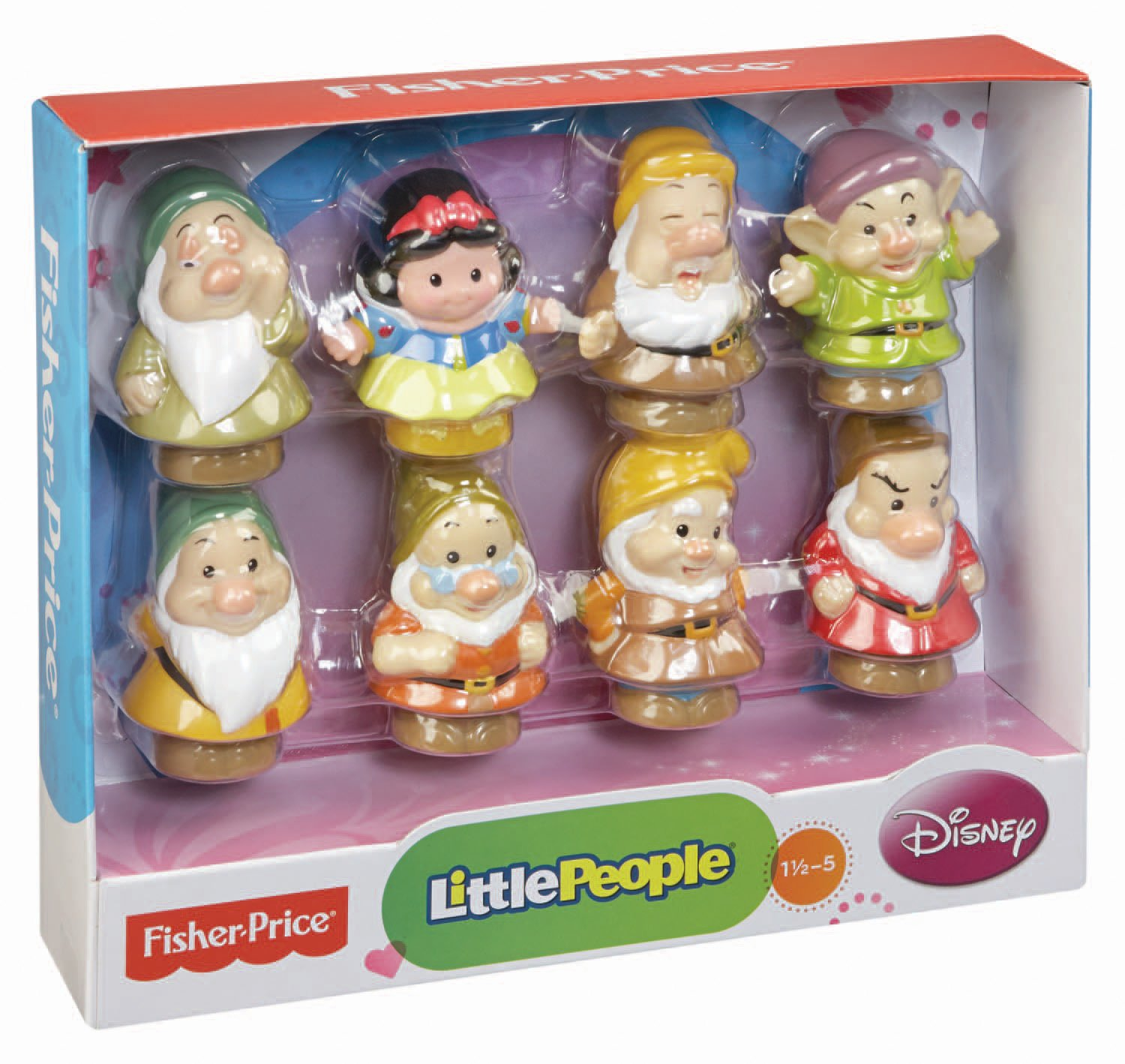 7 dwarfs names in order - Amazon Com Fisher Price Little People Disney Snow White And The Seven Dwarfs Toys Games
