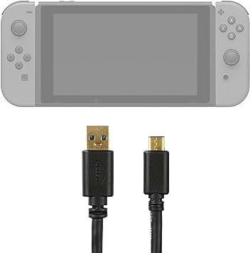 DURAGADGET Cable de USB C a USB 3.1, bañado en Oro. 75cm para ...