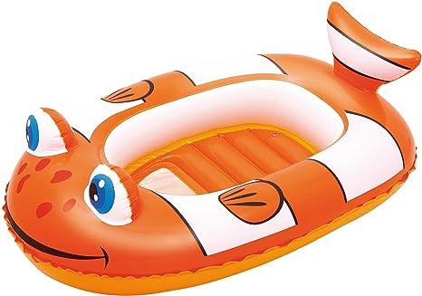 ATOSA Little Buddy Clown Fish RAFT - Juguete Hinchable