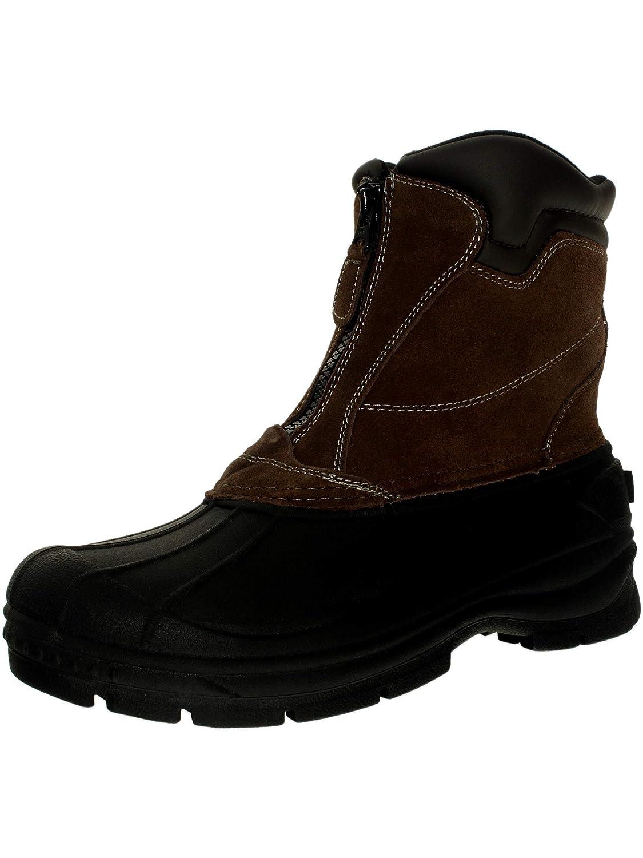754bd2d1b6e totes Men's Glacier-Zip Ankle-High Leather Boot