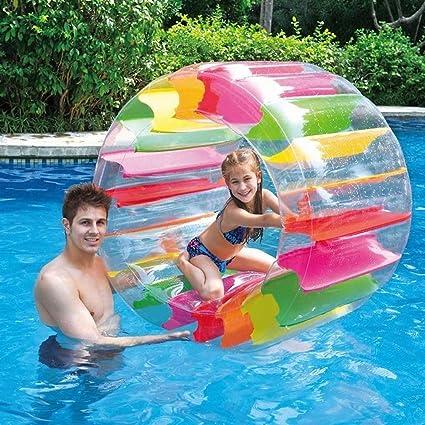 Mysida Inflatable Pool float Rueda de Agua Inflable Gigante ...