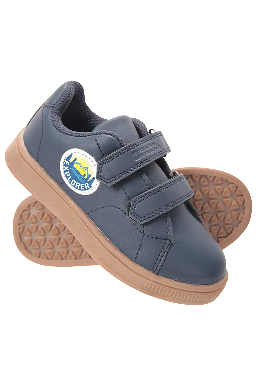 Kids Walking Shoes Mountain Warehouse Explorer Junior Riptape Shoes