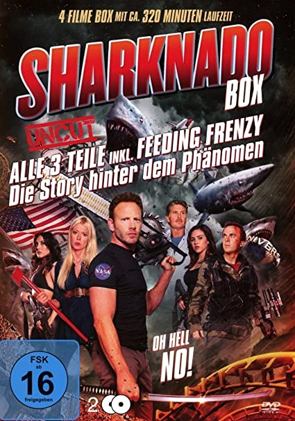 Sharknado 1-3 Box-Edition 2 DVDs/3 Filme plus Doku Italia: Amazon ...