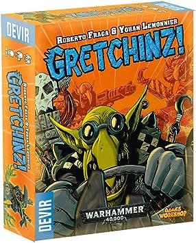 Devir-Juego de mesa- Gretchinz! (ed. en inglés, español, portugués e italiano) , color/modelo surtido: Amazon.es: Juguetes y juegos