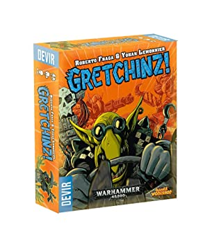 Devir-Juego de mesa- Gretchinz! (ed. en inglés, español, portugués e italiano)