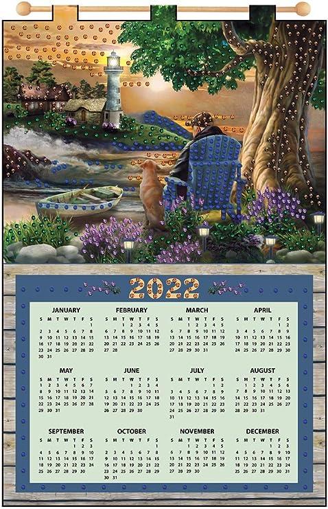 Maxim 2022 Calendar.Amazon Com Design Works Old Friends 2022 Felt Calendar Arts Crafts Sewing