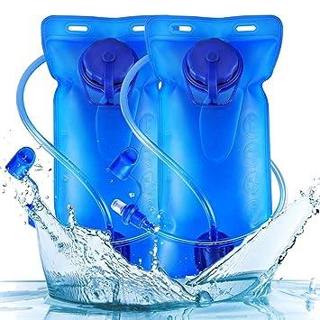 2 litros Bolsa de Agua - WENTS Bolsa de hidratación para mochila ...