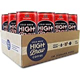 High Brew Coffee Double Espresso, 8 Fl Oz (12 Count)