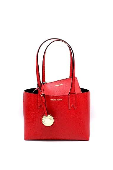 la meilleure attitude fa35a 231ef Emporio Armani FRIDA sac porté épaule Femme Rouge: Amazon.fr ...