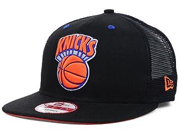 New York Knicks NBA 9Fifty New Era Team - Gorra clásica de rejilla ... d6bc43f1417
