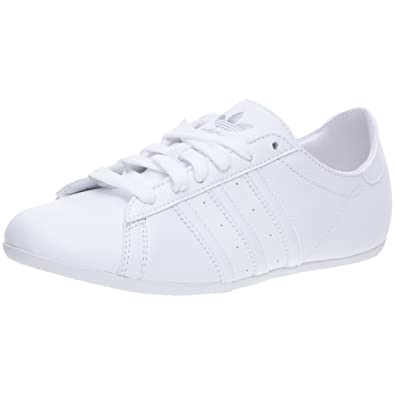adidas Originals Campus DP Round W, Baskets mode femme, Blanc/Blanc/Argent