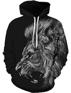 Goodstoworld Sweat-Shirt à Capuche Homme Femme Imprimé 3D Unisexe ... 5706fe22cc66