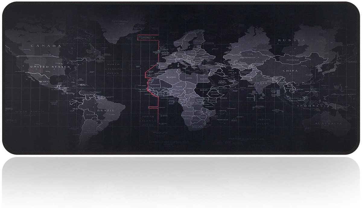 Large Gaming Mouse Pad Extended Edge-locked Anti-Slip Big Size Desk Computer Mat
