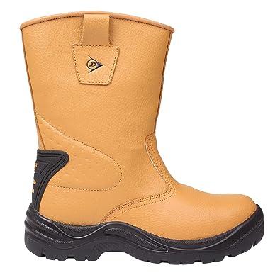 a5f35c365de9e Dunlop Safety Rigger Homme étanche Bottes de Travail Bottes Chaussures de  sécurité  Amazon.fr  Chaussures et Sacs