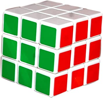 AAKASH Magic Cube 3x3x3 White Cube high Speed stickerless Magic Cube 3x3 Puzzle Cube brainteaser Game Toy