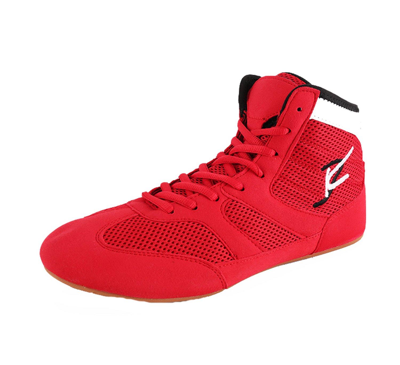 Chaussures de Lutte Boxe Bottes de Caoutchouc Combat Training Chaussures pour Hommes Femmes Enfants Enfants SF