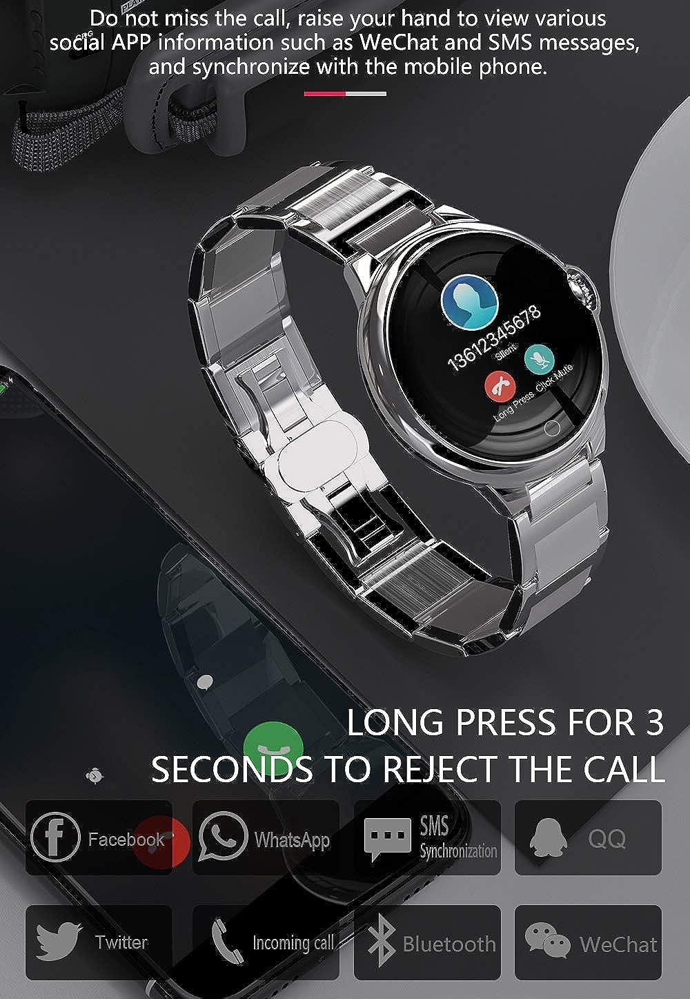 Smartwatch Fitness Tracker multifunzione, elegante..