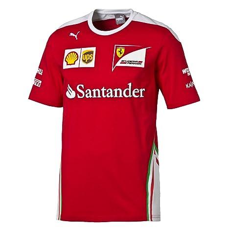 FERRARI F1 - Camiseta para Hombre  Amazon.es  Deportes y aire libre fe732eb3577