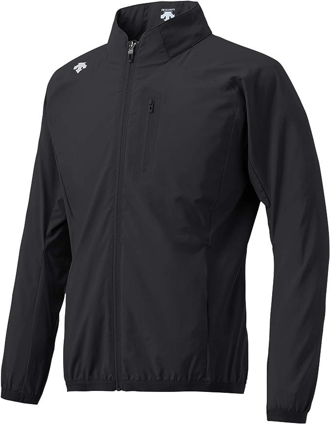 Descente Men's Water Repellent Windbreaker Jacket with Hood