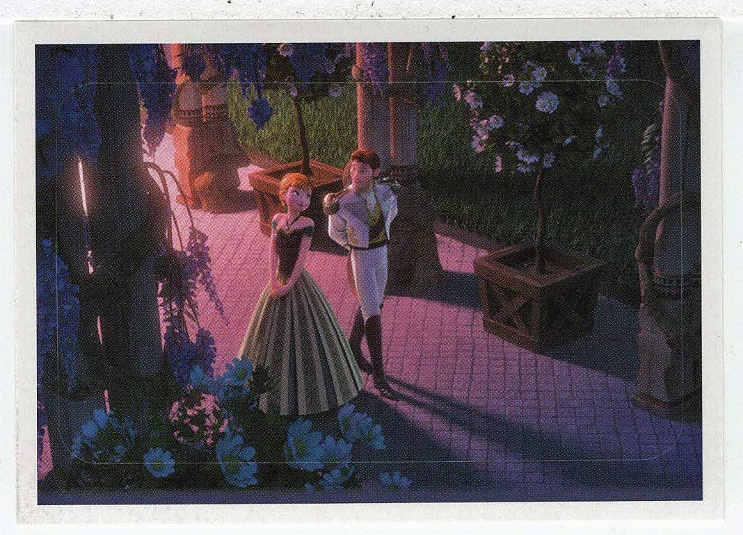 Frozen - Enchanted Moments (Trading Card/Sticker) # 100 (Base) Panini 2014
