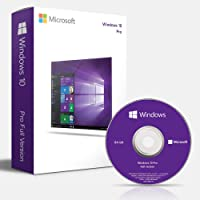 Windows 10 Professional OEM DVD 64 bit | English | 1 PC | DVD | Lifetime License
