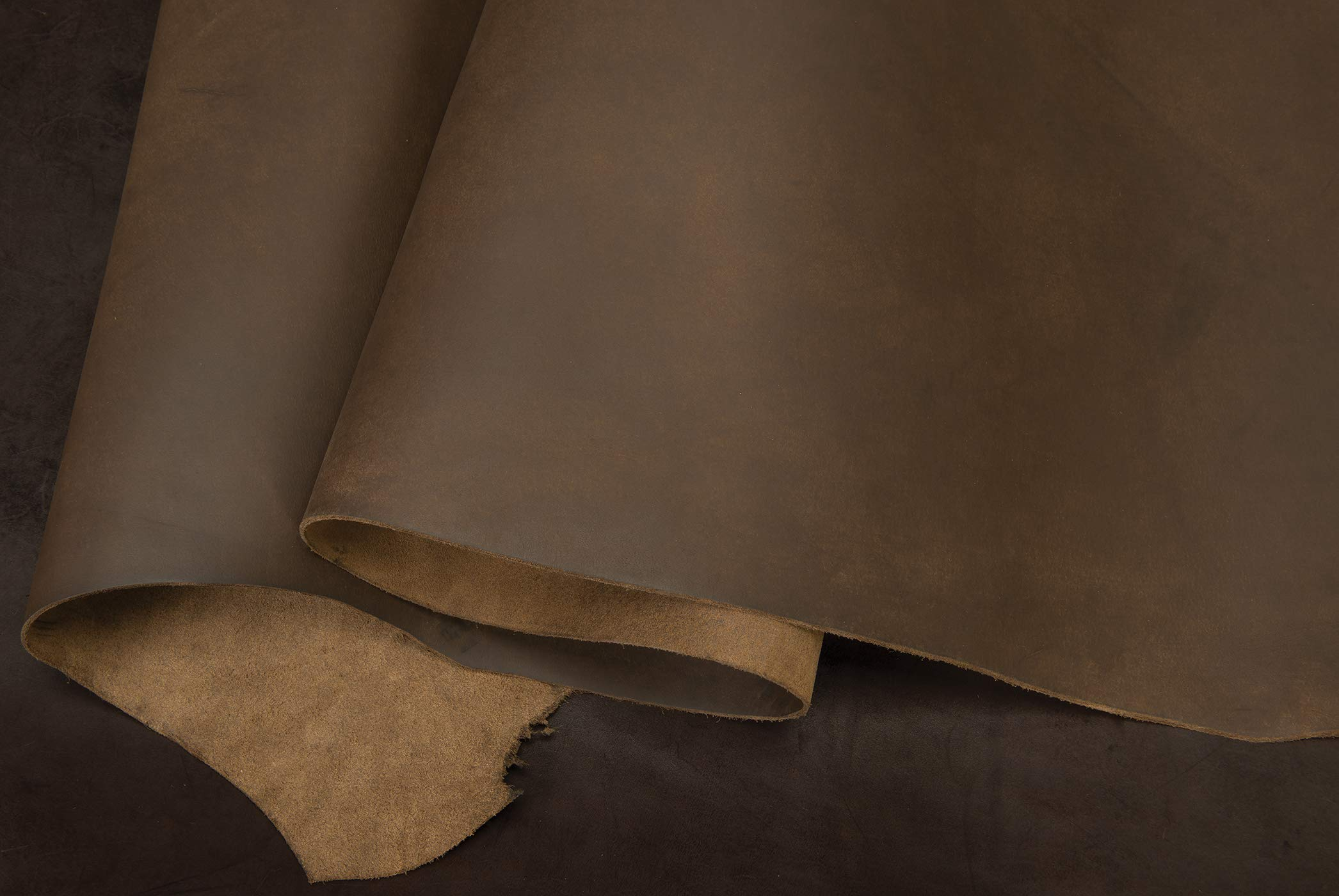 Matte Chrome Tanned Water Buffalo Leather