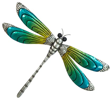 Home Décor Items Home, Furniture & DIY Dragonflies 6 Purple Orange 3D Wall Decals Wedding Table Decorations Hand Made