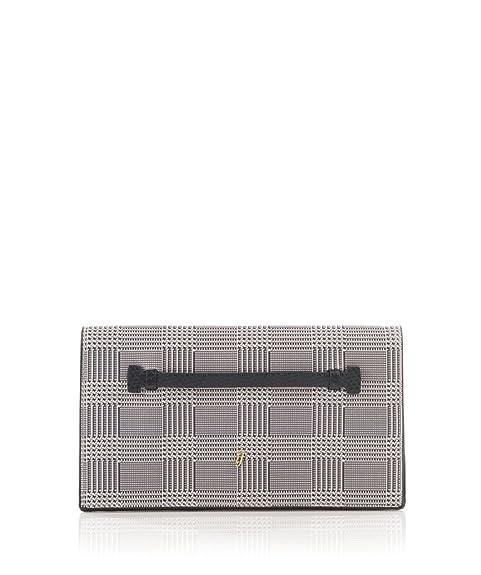AXEL - Cartera de mano de cuero sintético para mujer Nero E Bianco 29X16cm: Amazon.es: Zapatos y complementos