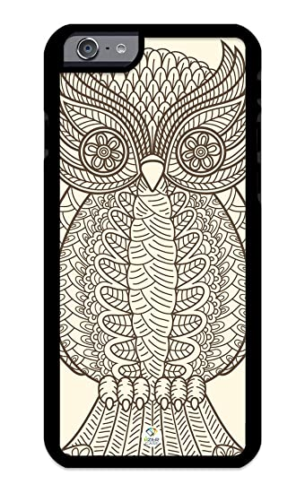 huge selection of 98f12 d83c6 Amazon.com: iZERCASE iPhone 6 PLUS, iPhone 6S PLUS Case Owl Abstract ...