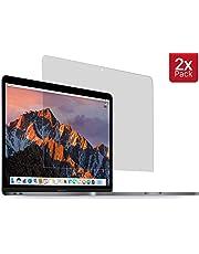 """MyGadget 2X Protection écran Mat pour Apple Macbook Pro 13"""" à partir de 2016 - Film HD Ultra Slim & Thin Anti Reflets Shield Rayures & Vitre Bubble Free"""