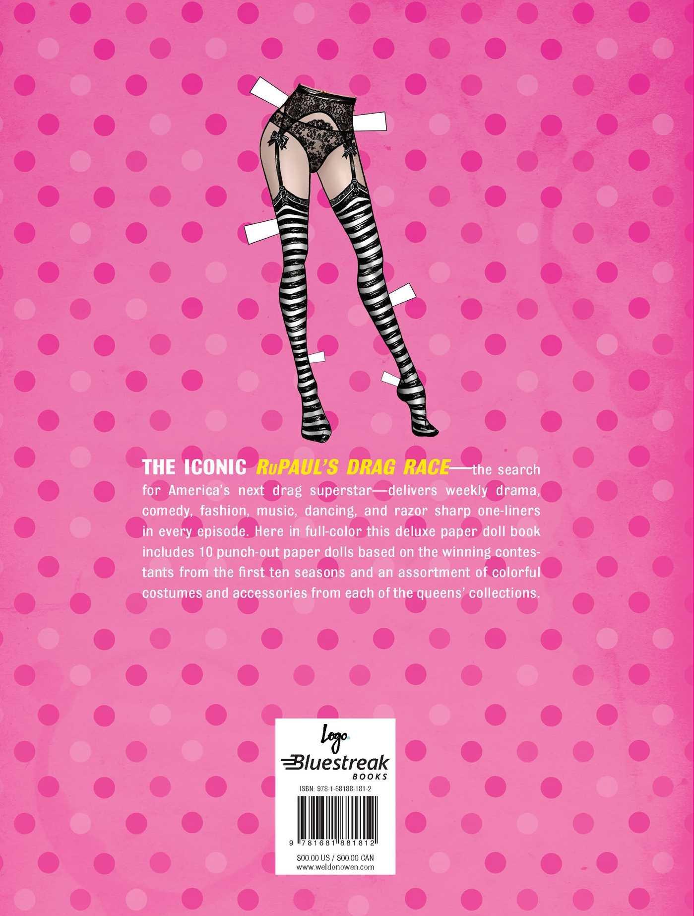 Amazon Com Rupaul S Drag Race Paper Doll Book 9781681881812