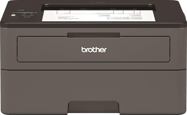 Brother HLL2370DN - Impresora láser monocromo con red y dúplex (34 ppm, Ethernet, USB 2.0, procesador de 600 MHz, memoria de 64 MB) gris