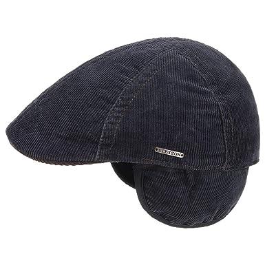 Stetson Gorra de Pana Orejeras Tomah Hombre | Gorro algodón Sombrero con Visera, Orejeras, Forro otoño/Invierno | XXL (62-63 cm) Azul: Amazon.es: Ropa y ...
