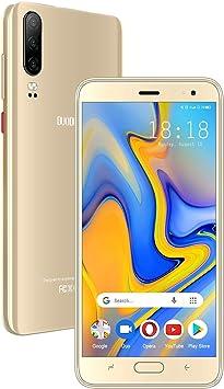 Moviles Libres 4G Android 9.0 Teléfono Móvil Libre 5.5 Pulgadas 16GB ROM/128GB TF, Quad Core Smartphone Libres 4800mAh Batería Dual SIM Dual Cámara Face ID Moviles Buenos: Amazon.es: Electrónica