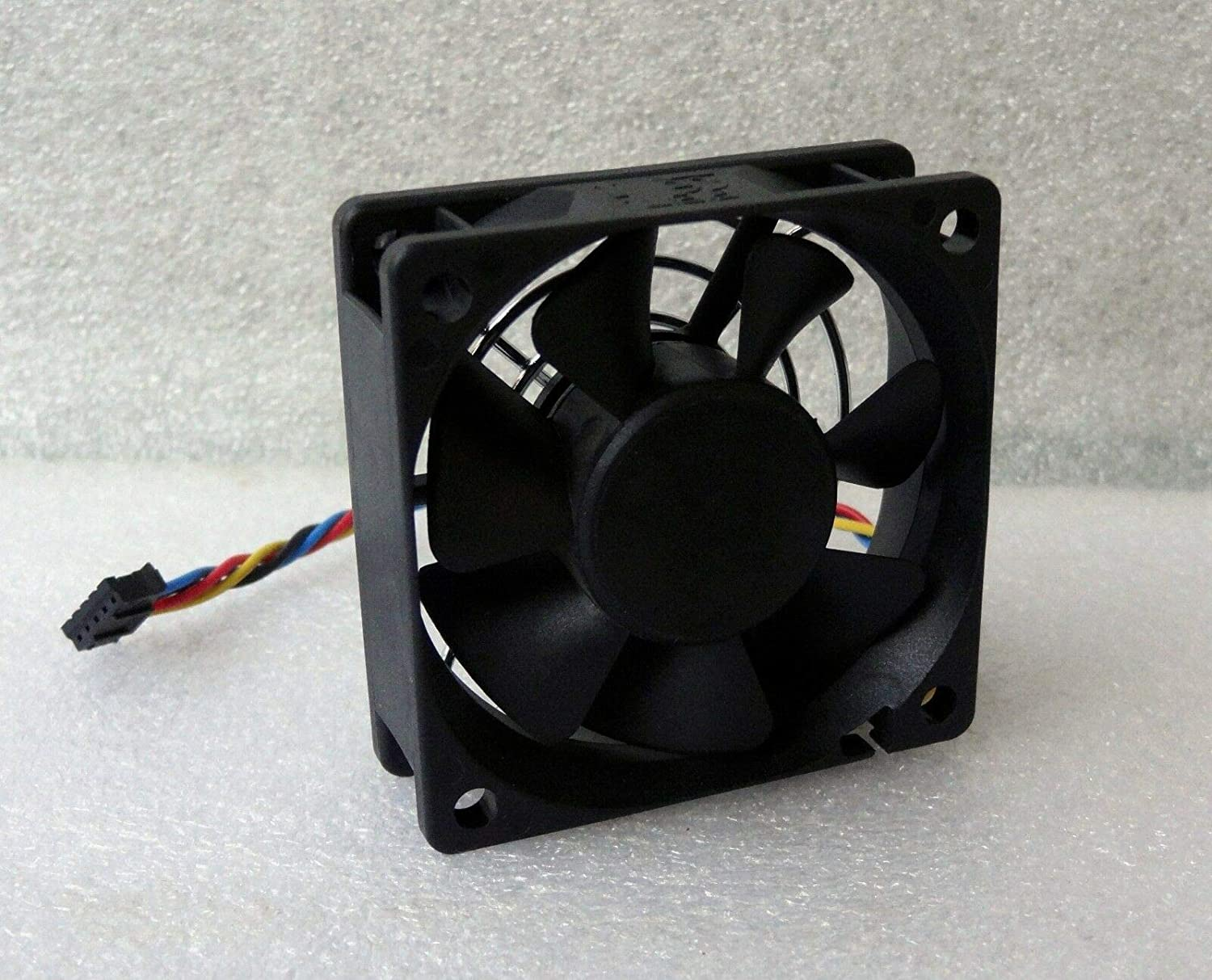 CAQL New Case CPU Chassis Fan for Dell Optiplex 9010 7010 9020 USFF, P/N: 0WDDHR 0K650T NU029 Sunon GM1206PKVX-A, 12V 3.0W 4-Pin 60x60x20mm