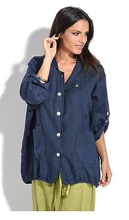 Vêtements Nawell Veste Femme 100 Et Lin Accessoires FnITnC