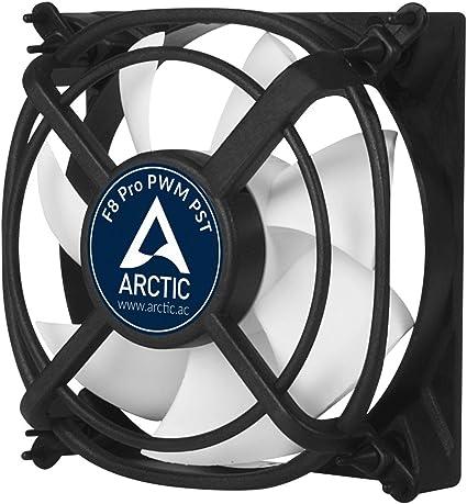 ARCTIC F8 Pro PWM PST – 80 mm Ventilador de Caja para CPU con PWM ...