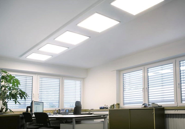 Plafoniere Controsoffitto : Lampada pannello a led 48w quadrato 60x60 cm plafoniera ad incasso