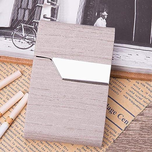 FYHX Caja de Cigarrillos de Metal Mantenga 20 Piezas de ...