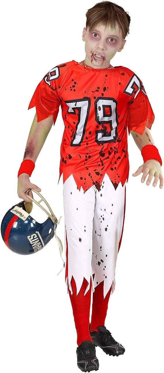 WIDMANN 03159 - Disfraz infantil de zombi con jugador de fútbol ...