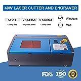 Orion Motor Tech 40W Co2 Laser Engraving Cutting